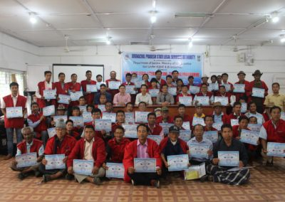 Two days Training programme for Gaon Buras & Gaon Buris at Tezu on 27 & 28 April, 2019