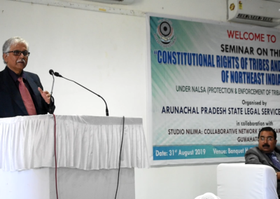 Seminar on Constitutional Rights of Tribes and indigenous people of NorthEast India